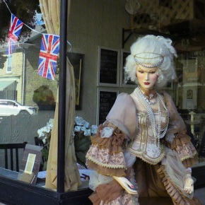 Marie Antoinette Greeter at Perth's 200th Birthday Celebration