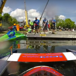 Fly on the water – not virtualreality!