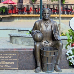 Will Jordan, Shaq celebrate Dr. Naismith invention?