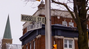 """""""Russell Street is special,"""" localssay."""