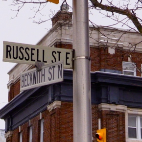 """Russell Street is special,"" locals say."