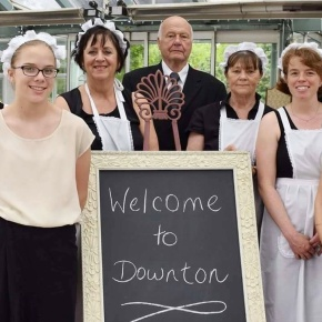 Downton Abbey percolating in Perth