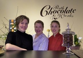 Chocolate trinity brings happiness to Perth