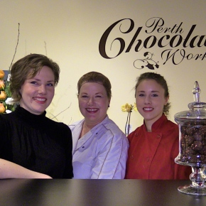 Chocolate trinity brings happiness toPerth