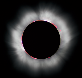 Total Eclipse over U.S. from Here :Schedule