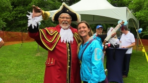 Thunderous ! VIPs join Smiths Falls in le boatcelebration