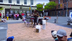 Democratized Production : Clay Family Covers Kingston Buskers