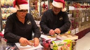 "Wanita and Dan Andress in Christmas ""Cookie Operation orDie"""
