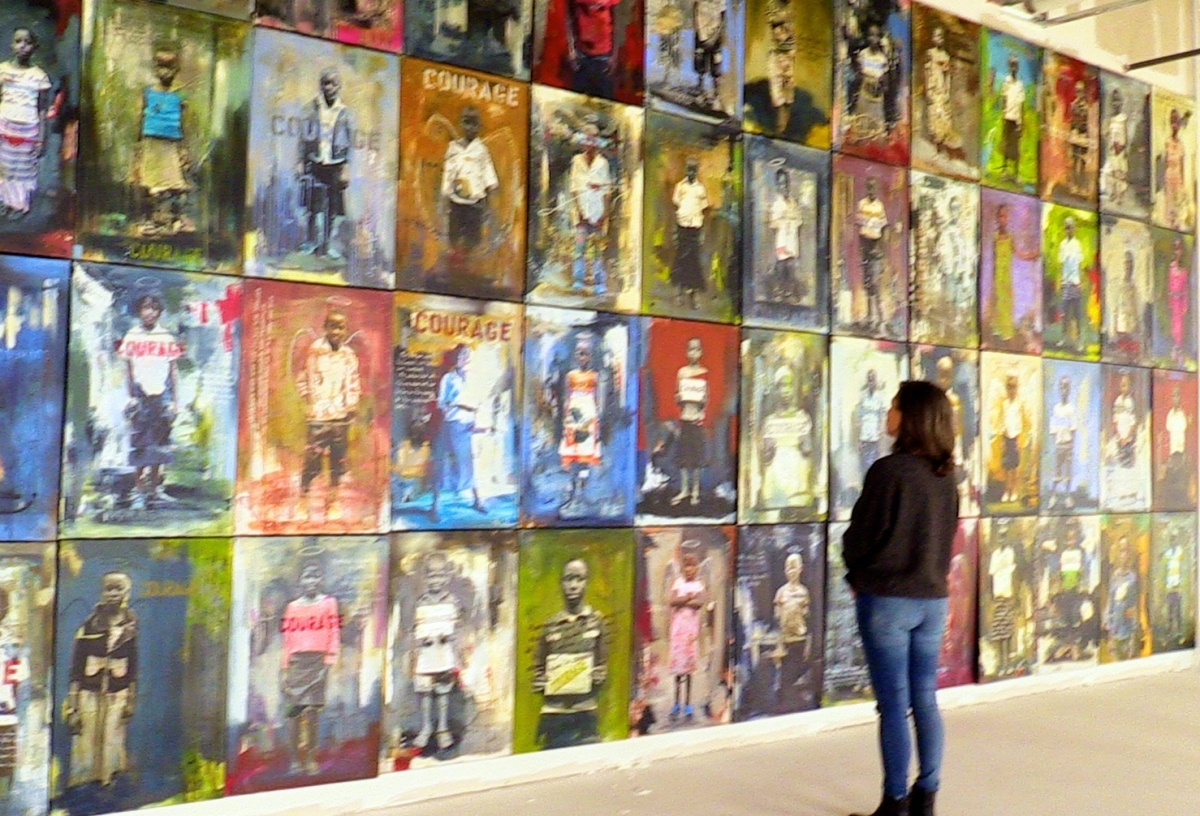 Renown local artist mother to 135 orphans the wedge