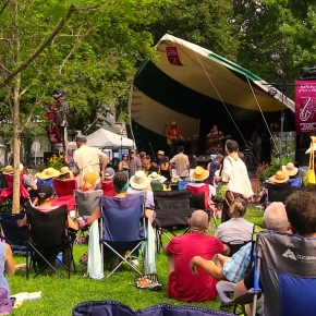 Stewart Park Festival Hits Big Notes and ClimateMiracle