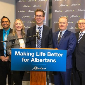 Alberta's Big Snip : Historical First Moving Quickly