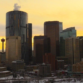Skycutting in Calgary : Beautiful Shards