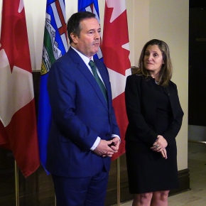 "Kenney and Freeland Meet in Calgary on Alberta's ""Urgent Need"""